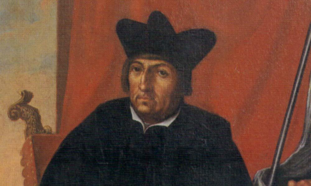 Gerwig Blarer, Ölgemälde; Foto: Wikipedia, gemeinfrei