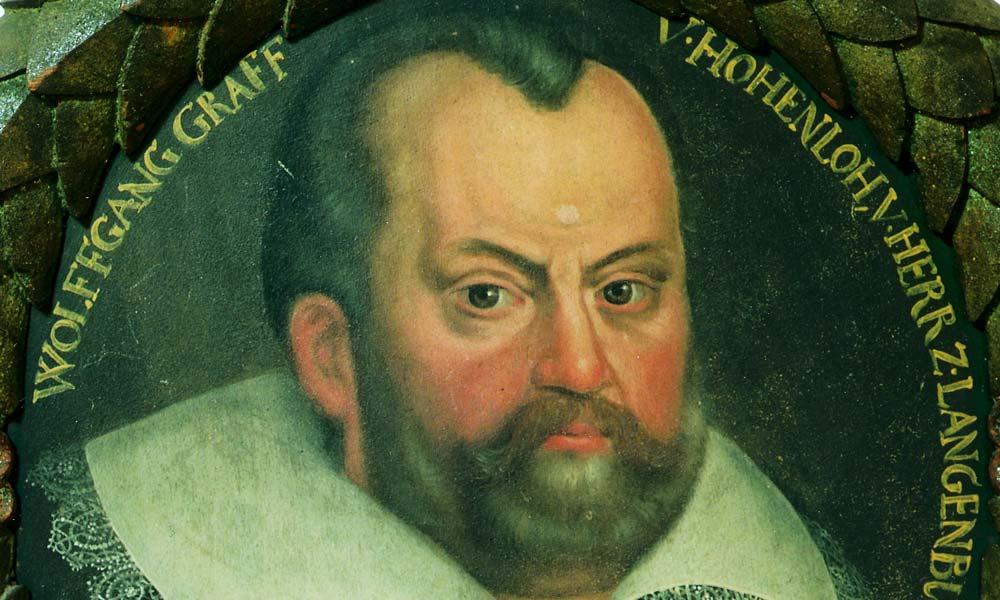 Graf Wolfgang II. von Hohenlohe, Ölgemälde; Foto: Hohenlohe Zentralarchiv, Neuenstein