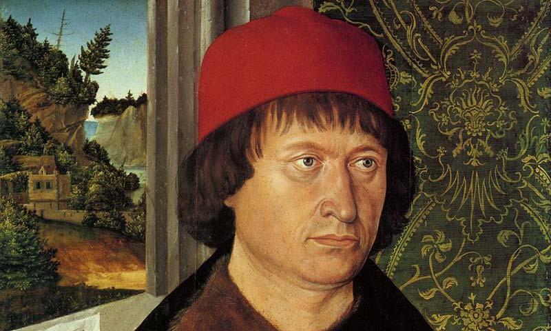 Hugo von Hohenladenberg, Ölgemälde; Foto: Wikipedia, gemeinfrei