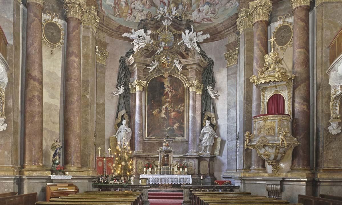 Die Schlosskapelle in Ludwigsburg; Foto: Landesmedienzentrum Baden-Württemberg, Steffen Hauswirth
