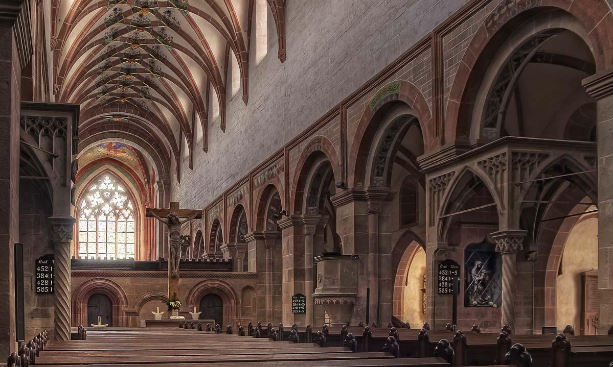 die Klosterkirche in Maulbronn; Foto: Staatliche Schlösser und Gärten Baden-Württemberg, Z Schorsch