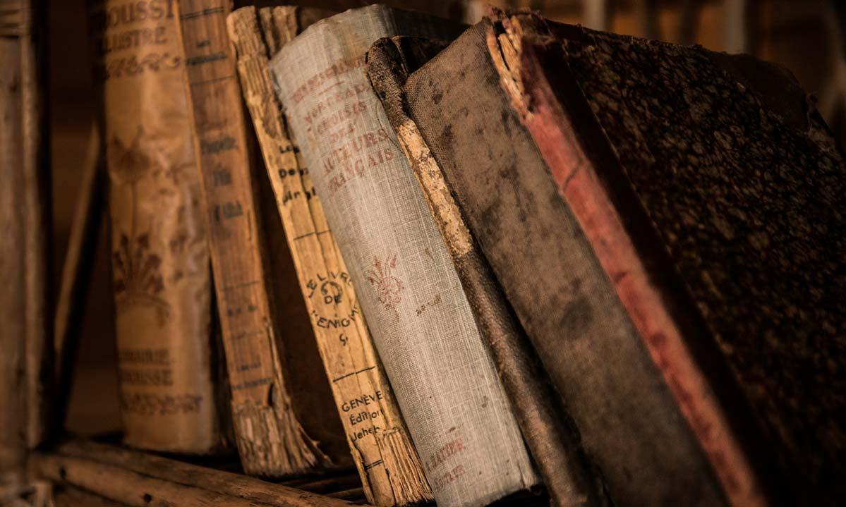 Alte Bücher; Foto: pixabay_gemeinfrei