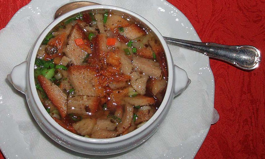 Brotsuppe; Foto: Wikipedia, gemeinfrei
