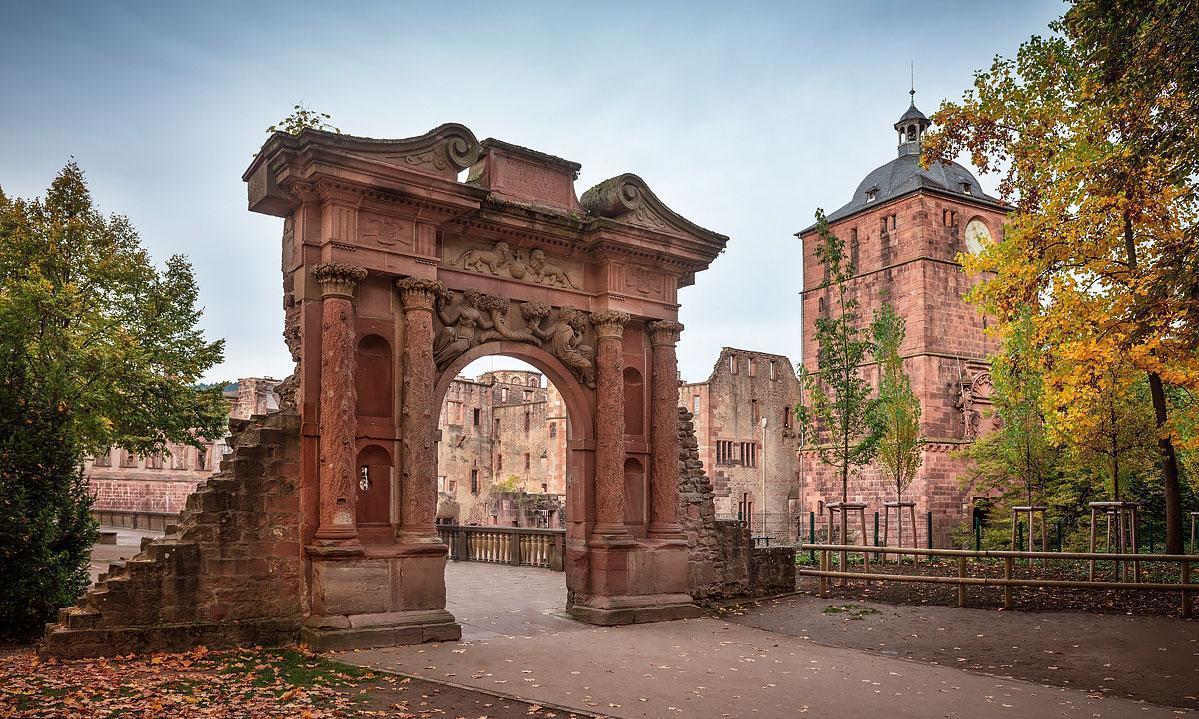 Das Elisabethentor im Schloss Heidelberg; Foto: Staaliche Schlösser und Gärten Baden-Württemberg, Günther Bayerl