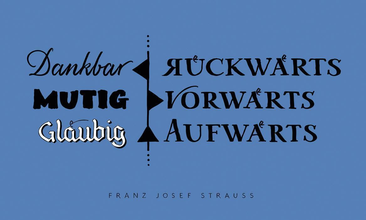 Denkanstoß im Januar, Motiv der Staatlichen Schlösser und Gärten Baden-Württemberg; Illustration: Petra Beiße