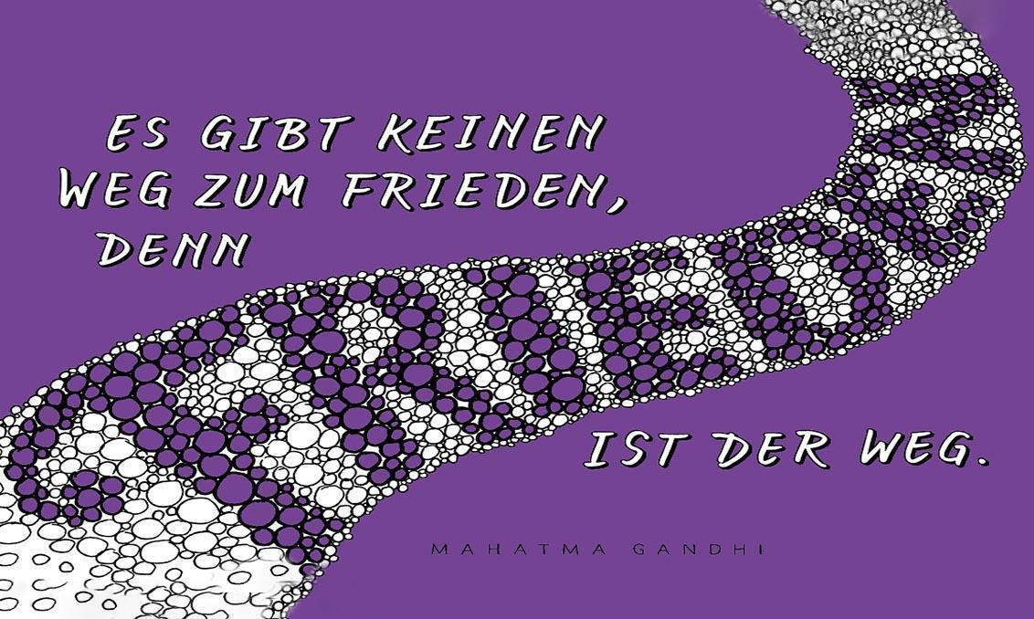 Denkanstoß im September, Motiv der Staatlichen Schlösser und Gärten Baden-Württemberg; Illustration: Petra Beiße