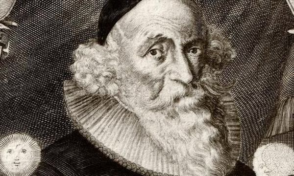 Johann Valentin Andreae, Kupferstich von Melchior Kusell um 1650