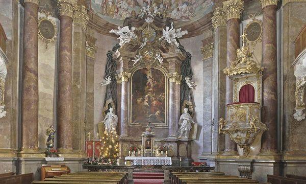 Die Schlosskapelle in Ludwigsburg