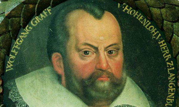 Graf Wolfgang II. von Hohenlohe, Ölgemälde