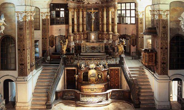 Die Schlosskirche in Rastatt