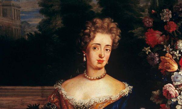 Porträt der Markgräfin Sibylla Augusta von Baden-Baden